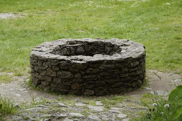 kamenná kašna