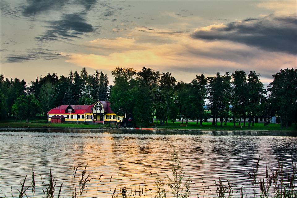 rybník u Lanškrouna